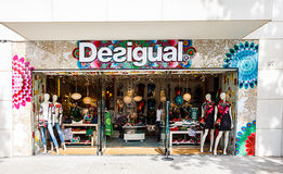 Desigual Fashion Store Royalty Free Stock Image