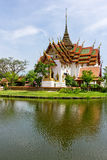 Dusit玛哈Prasat宫殿 库存图片
