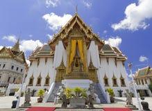 Dusit玛哈Prasat, Wat Phra Kaeo曼谷泰国 免版税库存照片