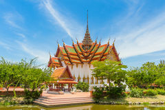 The Dusit Maha Prasat. In the Ancient Siam, Thailand Stock Images