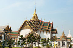 Dusit Maha Prasat Hall. The Grand Palace of Bangkok, Thailand Royalty Free Stock Photography