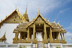 Dusit Maha Prasat Hall w Uroczystym pałac w Bangkok Zdjęcia Stock