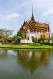 Dusit Maha Prasat Palace Immagine Stock