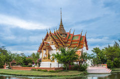 The Dusit Maha Prasat Palace ( The Grand Palace ) Royalty Free Stock Photo