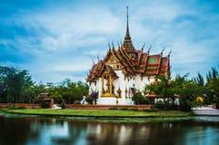 The Dusit Maha Prasat Palace ( The Grand Palace ) Royalty Free Stock Photos