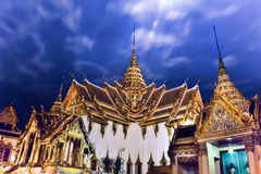 The Dusit Maha Prasat Throne Hall Royalty Free Stock Photography