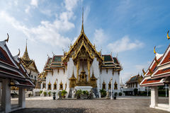 Dusit Maha Prasat Throne Hall in Grand palace at Bangkok. Royalty Free Stock Image
