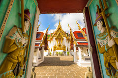 Dusit Maha Prasat Throne Hall at Wat Phra Kaew, Bangkok, Thailan. D Stock Photo