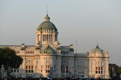 Dusit pałac fotografia royalty free