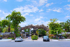 Dusit Zoo. Bangkok, Thailand - July 14, 2016: Dusit Zoo. Dusit Zoo was Thailand's very first zoo and has been around for more than 60 years Stock Images