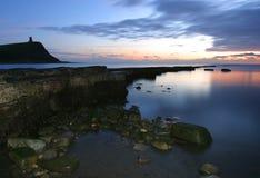 dusk κόλπων kimmeridge Στοκ Φωτογραφίες