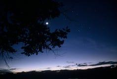 dusk λεκανών της Αμαζώνας Στοκ εικόνα με δικαίωμα ελεύθερης χρήσης