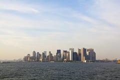 dusk νέος ορίζοντας Υόρκη το&upsi στοκ φωτογραφία με δικαίωμα ελεύθερης χρήσης