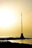dusk της Βηρυττού manara Στοκ Εικόνα