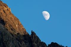 dusk φεγγάρι Στοκ Εικόνα