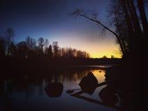dusk στοκ εικόνα με δικαίωμα ελεύθερης χρήσης