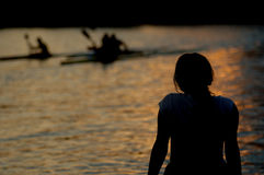 dusk χαλαρώνει Στοκ φωτογραφίες με δικαίωμα ελεύθερης χρήσης