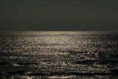 dusk ωκεανός Στοκ Φωτογραφίες