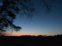 dusk fotografia stock libera da diritti
