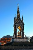 dusk Αγγλία Λονδίνο αναμνηστ& Στοκ Εικόνα
