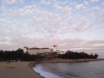 Free Dusk At Beach At Colone Macau. Stock Photos - 173983063