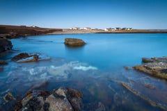 Dusk at Atlantic ocean in Ireland Royalty Free Stock Image