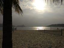 Niterói beach royalty free stock image