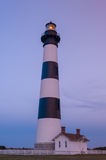 Dusk at the Bodie Lighthouse on North Carolina's Outer Banks Royalty Free Stock Photo