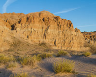 Dusk at Cathedral Gorge Royalty Free Stock Photography