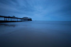 Dusk at Cromer Pier Stock Photo