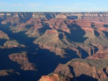 Dusk at Grand Canyon Royalty Free Stock Photo