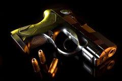 Dusk handgun Royalty Free Stock Photography