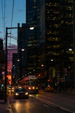 Dusk In Downtown Toronto Stock Image