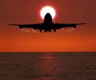 Dusk landing Stock Images