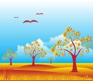 Dusk Landscape Royalty Free Stock Photography