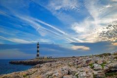 Dusk at Menorca island Royalty Free Stock Photo