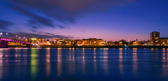 Dusk over the City Royalty Free Stock Photography