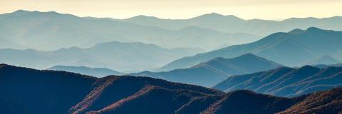 Smoky Mountain Ridges stock photo