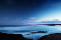Dusk over the Ocean Stock Images