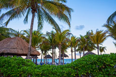 Dusk Playa Del Carmen Royalty Free Stock Image