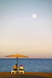 Dusk by the Red Sea Royalty Free Stock Images