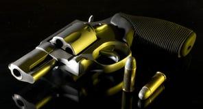 Dusk revolver Stock Images