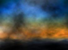 Dusk sky Stock Images