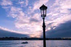 Dusk sky in Venice Stock Photography