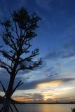 Dusk sunset Royalty Free Stock Image