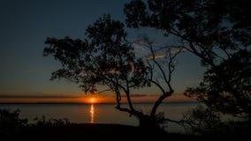Dusk Sunset Stock Photo