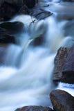 Dusk Waterfall. Small waterfall at dusk Stock Photos