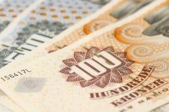 duński pieniądze Obraz Royalty Free