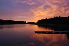 dusky sky Royaltyfria Foton