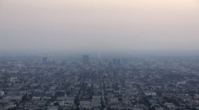 Dusky winter smog Stock Photography